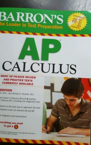 Barron's AP Calculus 12th Edition Paperback