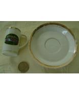 Miniature Cup & Saucer San Diego Zoo - $6.00