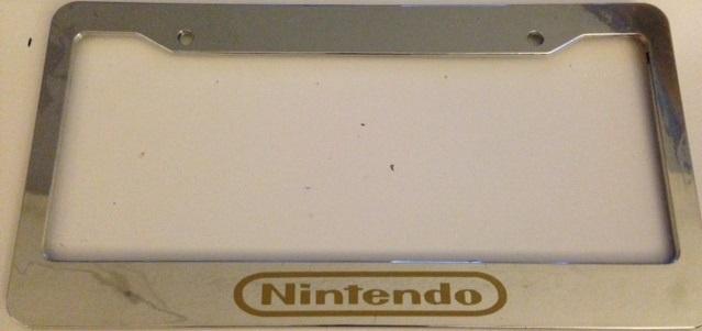 Nintendo chrome with gold