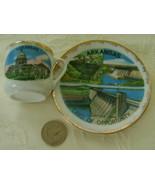 Miniature Souvenir Cup & Saucer, Arkansas - $6.00