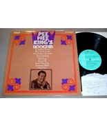 PEE WEE KING LP & SIGNED AUTOGRAPH NOTE - RCA CAS-2460 - $125.00