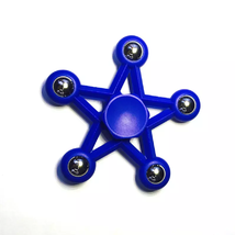 Five Star Fidget Spinner EDC Toy Relieves Stress - 1x w/Random Color and Design image 4