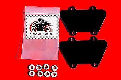 Kawasaki ZR 750 Zephyr Exhaust Emissions Reed Plate AIS Smog PAIR Block Off Kit