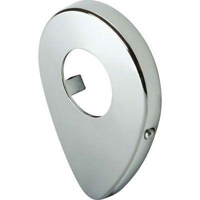 "Sterling Tear Drop Replacement Escutcheon Chrome 1-1/4"" ID"