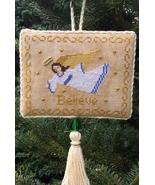Angel of Belief christmas cross stitch chart Stitchers Anon Design - $6.50