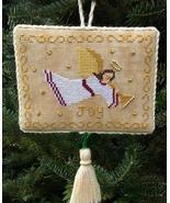 Angel of Joy christmas cross stitch chart Stitchers Anon Design - $6.50