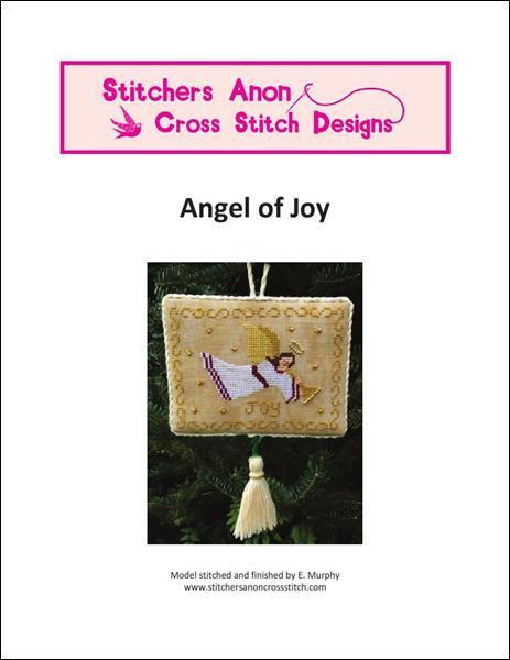 Angel of Joy christmas cross stitch chart Stitchers Anon Design