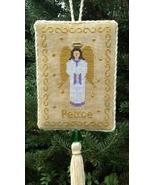 Angel of Peace christmas cross stitch chart Stitchers Anon Design - $6.50