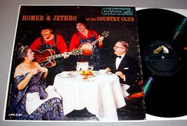 HOMER & JETHRO LP - At the Country Club - $19.95
