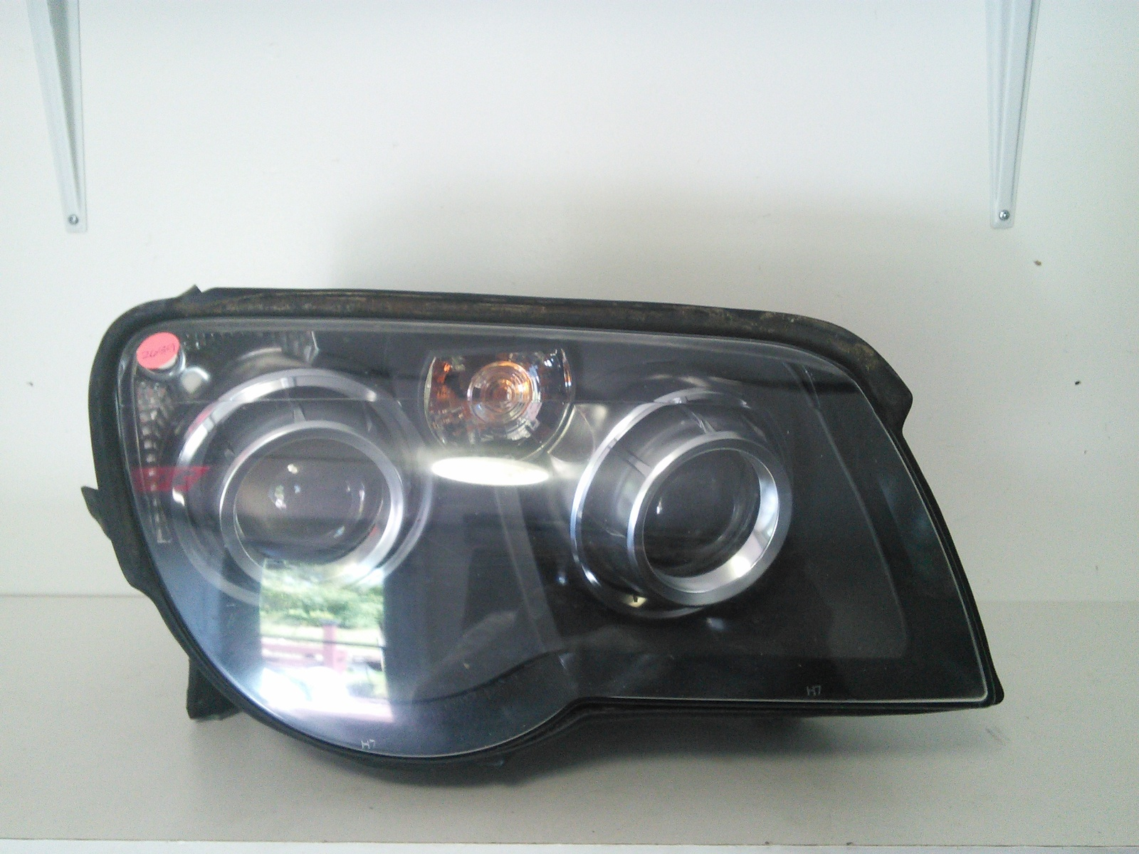 remove headlights 2006 chrysler crossfire replace the. Black Bedroom Furniture Sets. Home Design Ideas