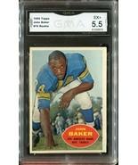 1960 Topps Football John Baker #70 (Rookie Card) (GMA Graded EX+ 5.5) - $19.79