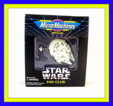 Star Wars Micro Machines,Millenium Falcon With Han Solo,Limited Edition Rare,New - $36.90