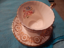 Paragon Cup and Saucer bone china England Free shipping #131  - $37.99