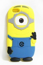 3D Silicone Rubber Yellow Despicable Minion Case Cover for iPod Touch 4 ... - $6.99