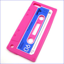 Silicone Rubber 3D Retro Cassette Tape Case Skin for iPod Touch 5th & 6t... - $4.99