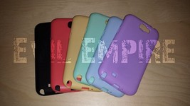 Bright Pastel Solid Anti-Scratch Silicone TPU Case for Galaxy Note 2 (Lo... - $12.99