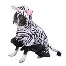 Zack & Zoey Polyester Zebra Stripes Dog Costume, X-Large, 24-Inch - $34.95