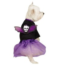 Casual Canine Skull Costume Set for Pets, Large, Black - $34.95