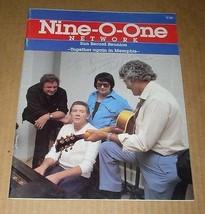 Carl Perkins Autographed Nine O One Sun Record Reunion Magazine Vintage ... - $499.99