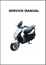 SYM Orbit 50 Scooter Service Repair Manual CD - $12.00