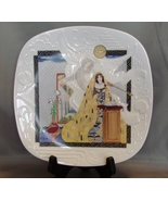 """Edwin M. Knowles """"Square Shaped"""" Plate: The Annunciation by  by Eve Lice... - $16.99"""