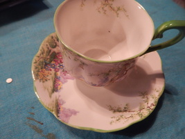 Royal Albert Greenwood Tree cup and saucer bone china England  - $54.99