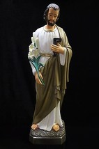 """32"""" Saint Joseph the Worker Statue Sculpture Made in Italy Catholic Religious - $349.95"""
