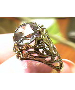 RING 5.5 SILVER RUSSIAN ALEXANDRITE solitaire ENGAGEMENT color change  F... - $54.99