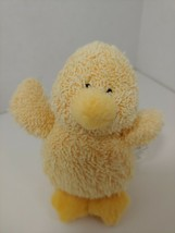 Starbucks yellow duck Chapsy plush terry cloth Russ Berrie small mini - $19.79