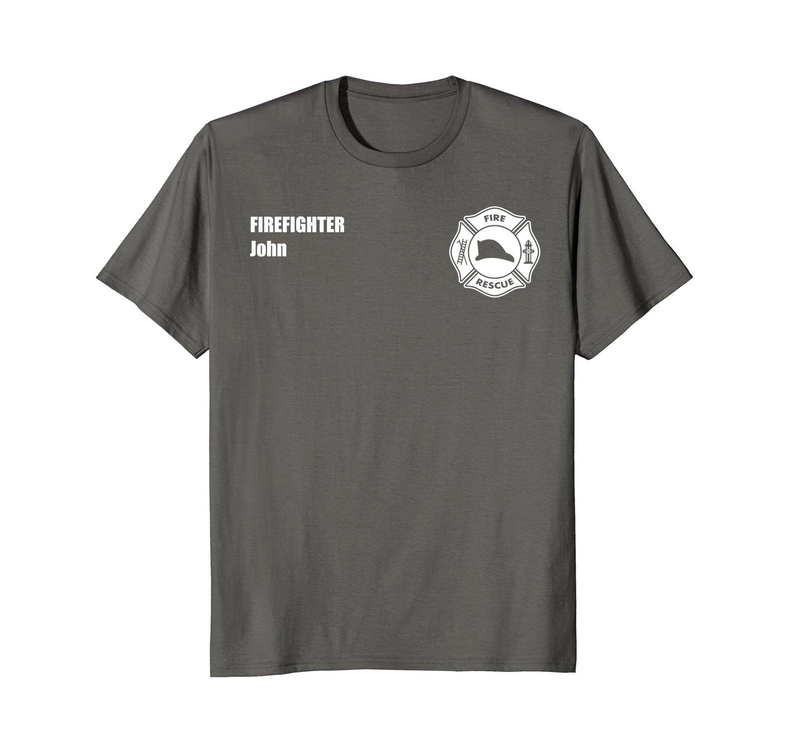 Firefighter John - Official Fire Department Uniform Shirt