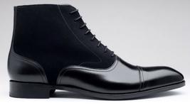 O men s handmade brown boot men black dress leather boot 88e3 thumb200