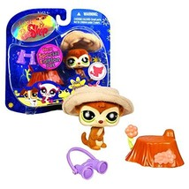 Hasbro Year 2008 Littlest Pet Shop Portable Pet... - $19.99