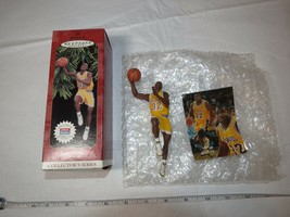 1997 Hallmark Keepsake Ornament Magic Johnson Hoop Stars Collectors Seri... - $18.69