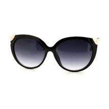 Oversized Fashion Sunglasses Womens Round Cateye Frame UV 400 - $9.95