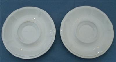 Primary image for KENSINGTON STAFFORDSHIRE ENGLAND IRONSTONE SAUCERS (2)