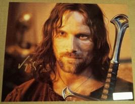 Viggo Mortensen Hand Signed 8x10 Photo COA Lord of The Rings - $64.99