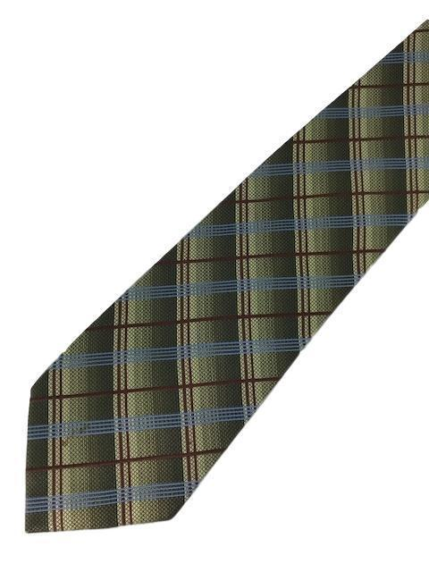 New KENNETH COLE New York Silk TIE Green, Blue Designer 57""
