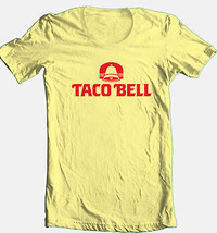 Taco Bell T shirt retro 80's fast food mexican restaurant cotton graphic tee image 1