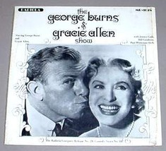 GEORGE BURNS & GRACIE ALLEN SHOW LP - Radiola MR-1028 - $14.75