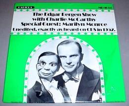 EDGAR BERGEN & CHARLIE McCARTHY SHOW LP - RADIOLA MR1034 - $17.50