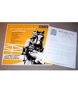 HANK SNOW IMPORT LP + SIGNED LETTER - Just Keep A Movin' - $150.00