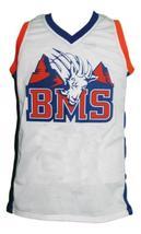Harmon Tedesco #1 Blue Mountain State Basketball Jersey Sewn White Any Size image 1