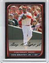 2008 Bowman #85 KEN GRIFFEY JR Cincinnati Red Hall of Fame  - $3.95