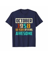 Uncle Shirts -   Birthday October 1958 - 60 Years Of Being Awesome T Shi... - $19.95+