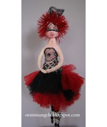 """Mardi-Gras Tassel Dolll Ornament"" PDF Digital E-Pattern By Marla Niederer - $22.00"
