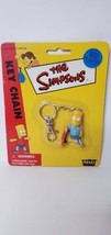 BART SIMPSON Vintage The Simpsons Keychain  (B1) New in package. - $11.99