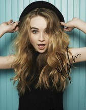 * Sabrina Carpenter Signed Photo 8X10 Rp Autographed Girl Meets World * - $19.99