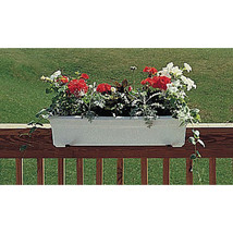 Novelty White Countryside Flowerbox 18 Inch 026978161925 - $17.74