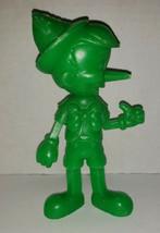 "Vintage USA Marx Walt Disney Prod Green Pinacchio plastic figure 6.25"" 1971 - $19.99"