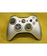 Original Microsoft Xbox 360 Matte Grey Silver W... - $24.75